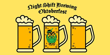 Night Shift Brewing Oktoberfest Steinholding Competition: Men's Sign-Up tickets