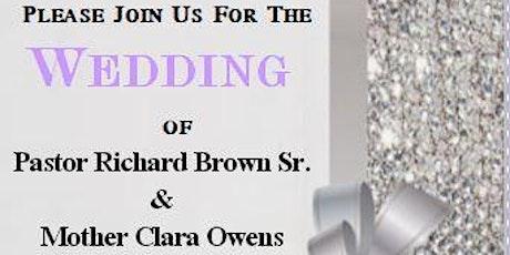 The Brown Wedding tickets