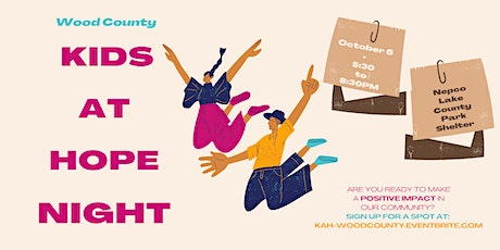 Kids At Hope - Wood County tickets
