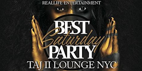 TAJ SATURDAY PARTY @TAJ LOUNGE NYC #TAJ tickets