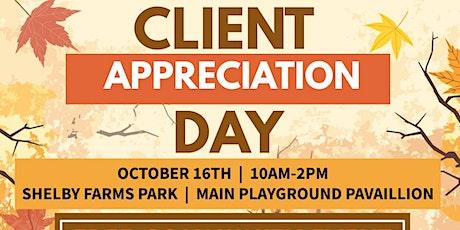 Client Appreciation Day tickets