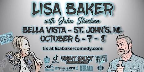 Lisa Baker - Right Saucy Comedy - St John's NL tickets