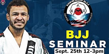 Master Carlos Oliviera BJJ Seminar tickets