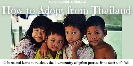 Thailand Adoption Program Information Session via Zoom tickets