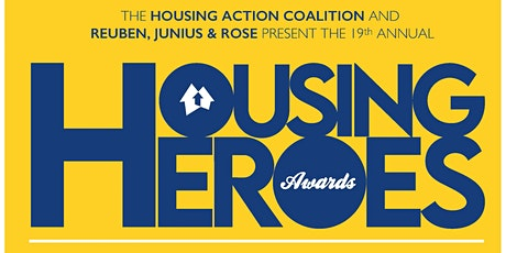 19th Annual Housing Hero Awards tickets