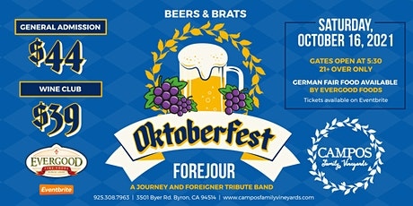 Oktoberfest - Forejour, Beer and Brats! tickets