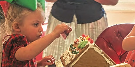 10th Annual Gingerbread Making Fundraiser billets