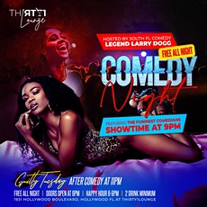 COMEDY NIGHT with LARRY DOGG tickets
