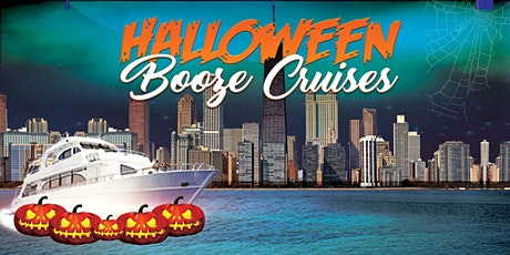 Halloween BOOze Cruises on Lake Michigan - Party on a 3-story Yacht w/ a DJ tickets