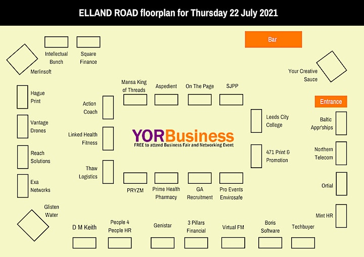 FREE business Expo & Networking Event at Elland Road LEEDS image