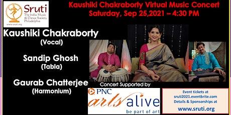 Kaushiki Chakraborty - Indian Hindustani Classical Musical Concert tickets