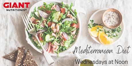 VIRTUAL September: Mediterranean Diet tickets