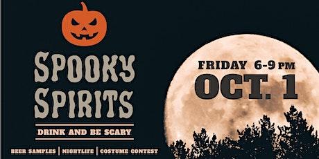 Spooky Spirits tickets