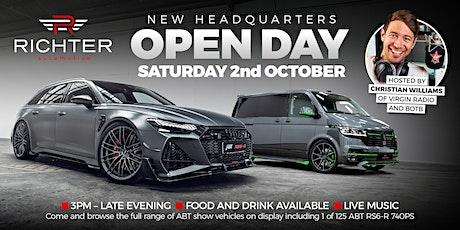 Richter Automotive Open Day tickets