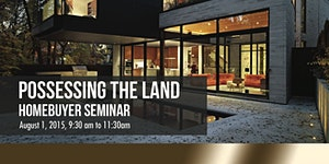 Possessing the Land Homebuyer's Seminar