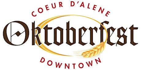 Downtown Coeur d'Alene Oktoberfest tickets