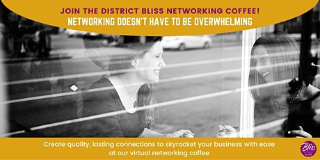 November Virtual Networking Coffee | Create Authentic, Lasting Connections tickets