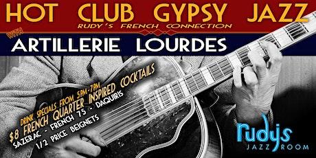 Hot Club Gypsy Jazz Thursdays with Artillerie Lourdes tickets