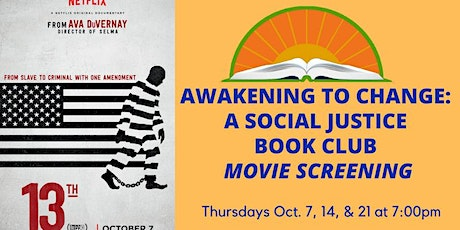 Awakening to Change: A Social Justice Book Club: October Meetings tickets