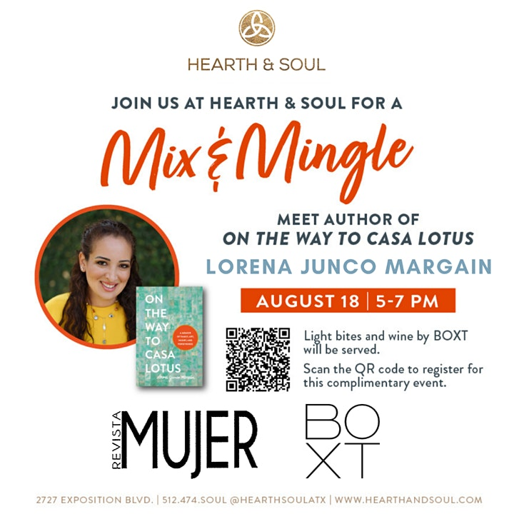 Mix and Mingle with Texas Book Festival & Author Lorena Junco Margain image