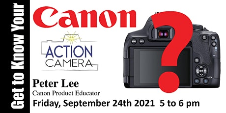 Get to Know Your Canon - Virtual Class tickets