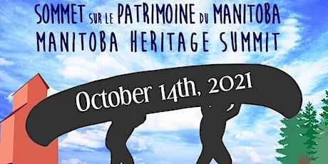 Manitoba Heritage Summit 2021 tickets