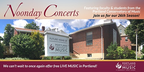 Harold Stover, Organist | Noonday Concert Series tickets