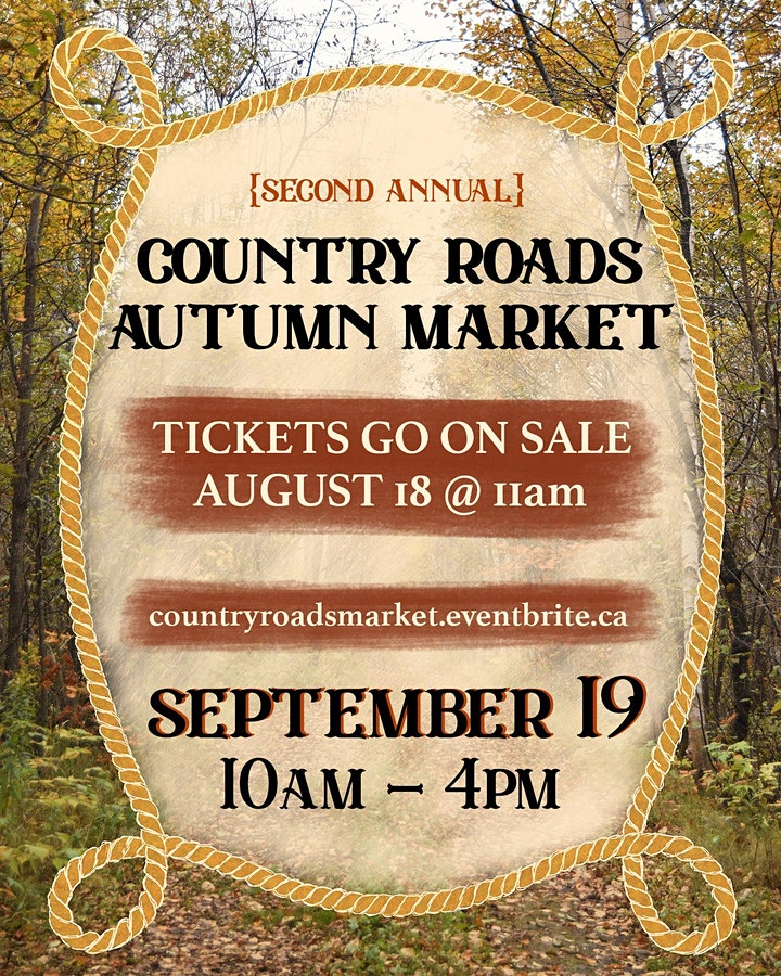 {Second Annual} Country Roads Autumn Market image