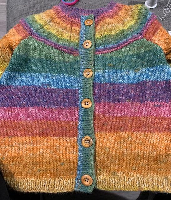 Knitting with Judith Cooper image