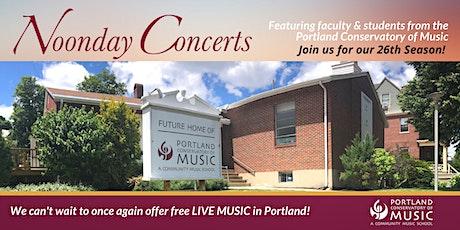 Michael Bostock, Pianist | Noonday Concert Series tickets