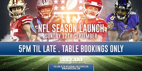 NFL Sundays at Nordic tickets