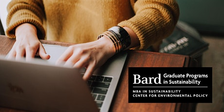 Bard Graduate Programs in Sustainability - Oct. 2021 Online Info Session tickets