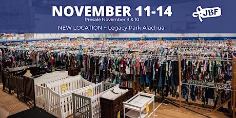 JBF Gainesville Kids' MEGA Sale November 11-14 tickets
