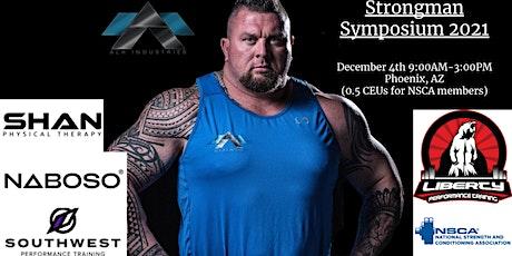 Strongman Symposium 2021 tickets
