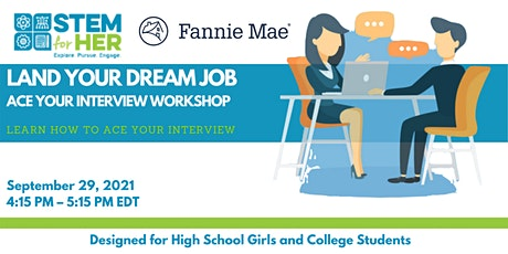 Land Your Dream Job: Ace Your Interview Workshop tickets