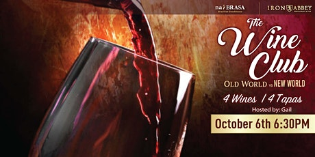 Wine Club: Old World vs New World tickets