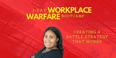 Workplace Warfare Bootcamp tickets