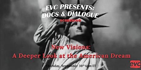 EVC Presents Docs & Dialogue: New Visions tickets