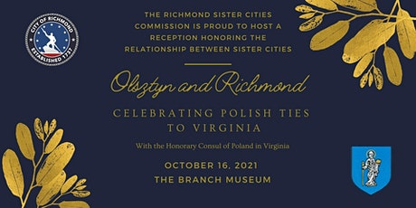 Friends of Richmond Sister Cities - Olsztyn Reception tickets