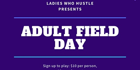Adult field day tickets