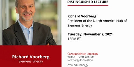 Distinguished Lecture by Siemens Energy President Richard Voorberg tickets