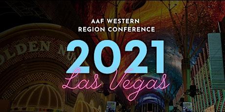 AAF Western Region Conference 2021 Las Vegas tickets