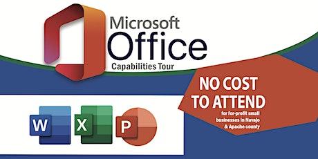 Microsoft Office Capabilities Tour tickets