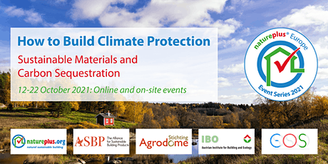 """natureplus Europe Event Series 2021: """"How to Build Climate Protection"""" tickets"""
