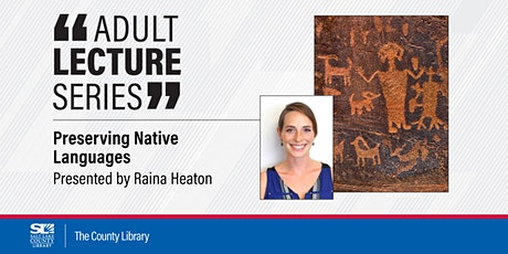 Virtual Adult Lecture: Preserving Native  Languages tickets