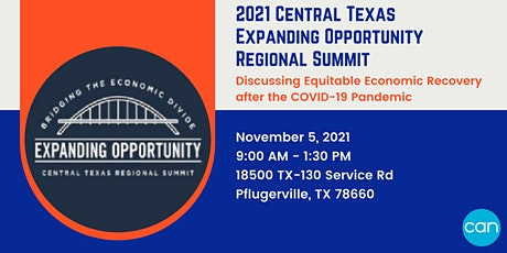 2021 Central Texas Expanding Opportunity Summit tickets