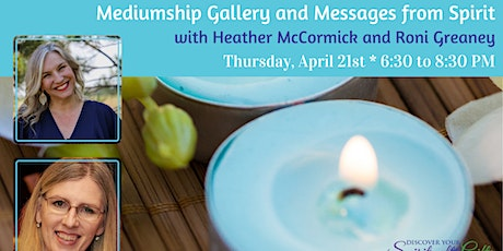 Mediumship Gallery and Messages from Spirit tickets