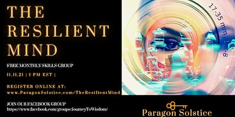The Resilient Mind tickets