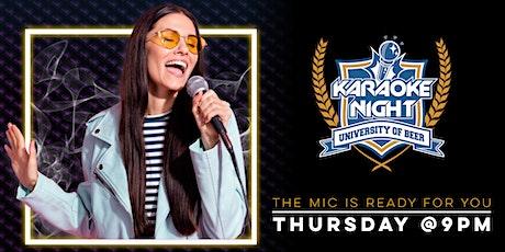 Karaoke Night | University of Beer -  Vacaville tickets