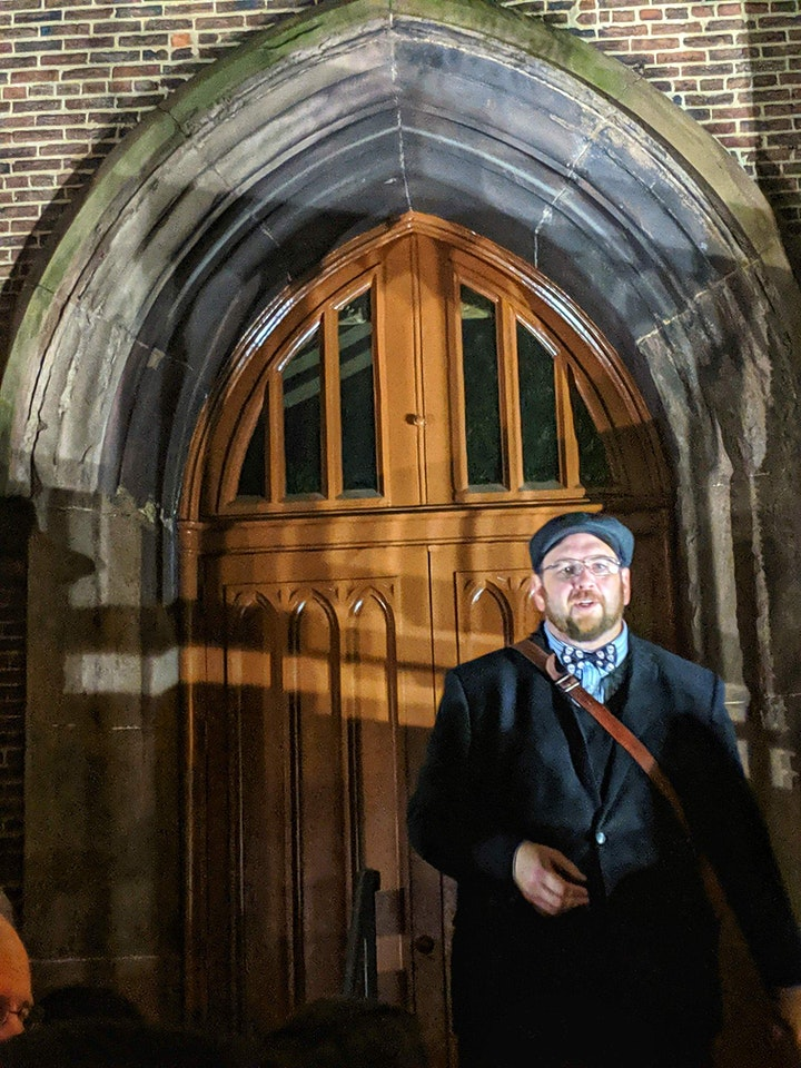 The Original Poe Grave  Ghost Tour image